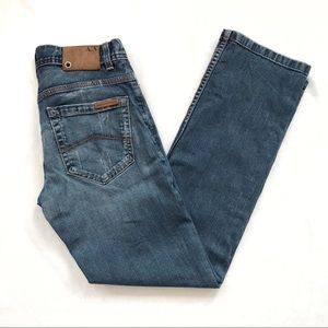 AX Distressed Straight Jeans 29